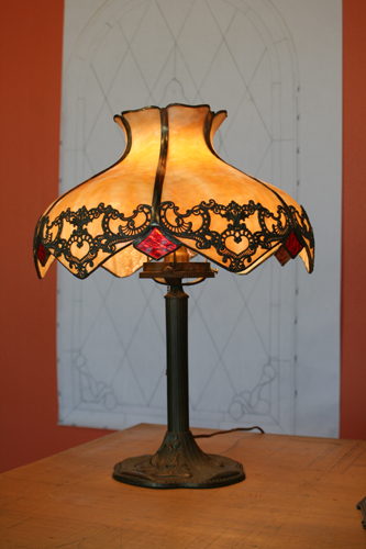 Bent Panel Lamp Shade Repair